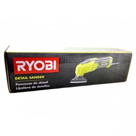 RYOBI Detail Sander 0.4 Amp Corded Electric 2-7/8 inch 13000 RPM Power Tool New