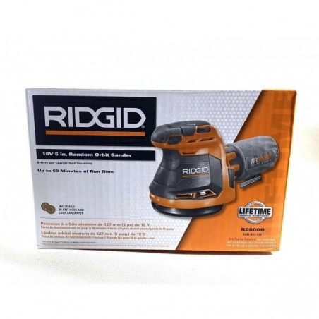Ridgid R8606B Orbit Sander Variable Speed Adjustable Light Weight (Tool Only)