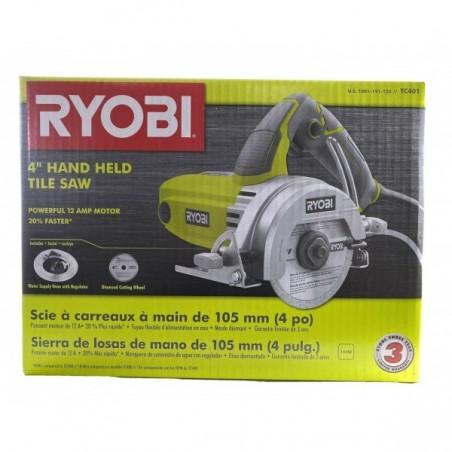 Ryobi TC401 Tile Saw Gripzone Diamond Blade Water Supply Hose 12 Amp 4 in.